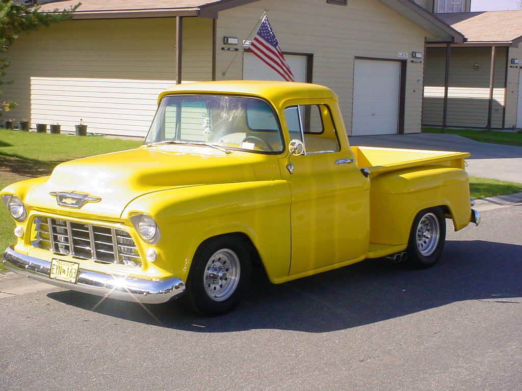 55 Chevy TRUCK / interior / seat cover