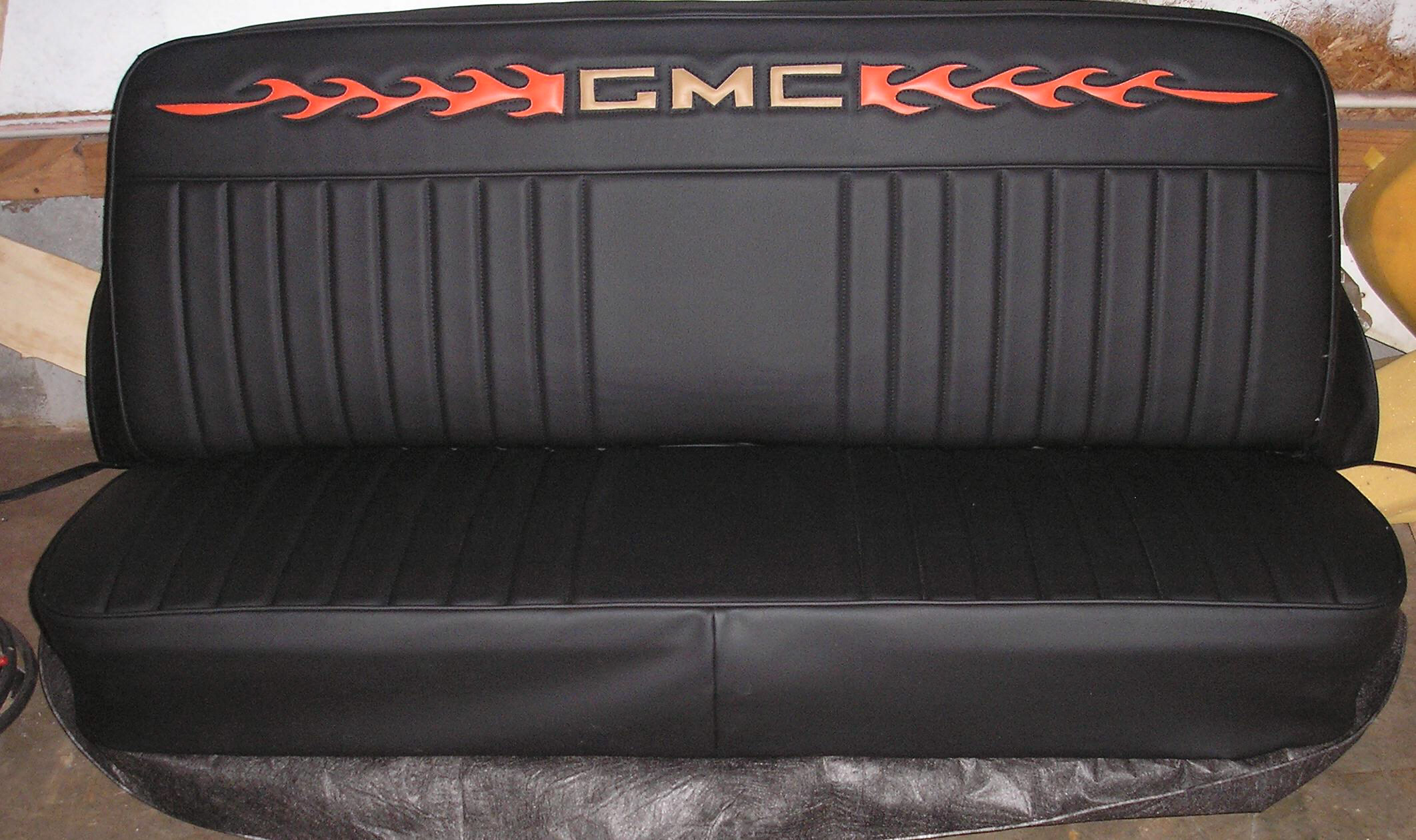 Super Inlaid Gmc Truck Seat Covers Upholstery Ricks Custom Dailytribune Chair Design For Home Dailytribuneorg