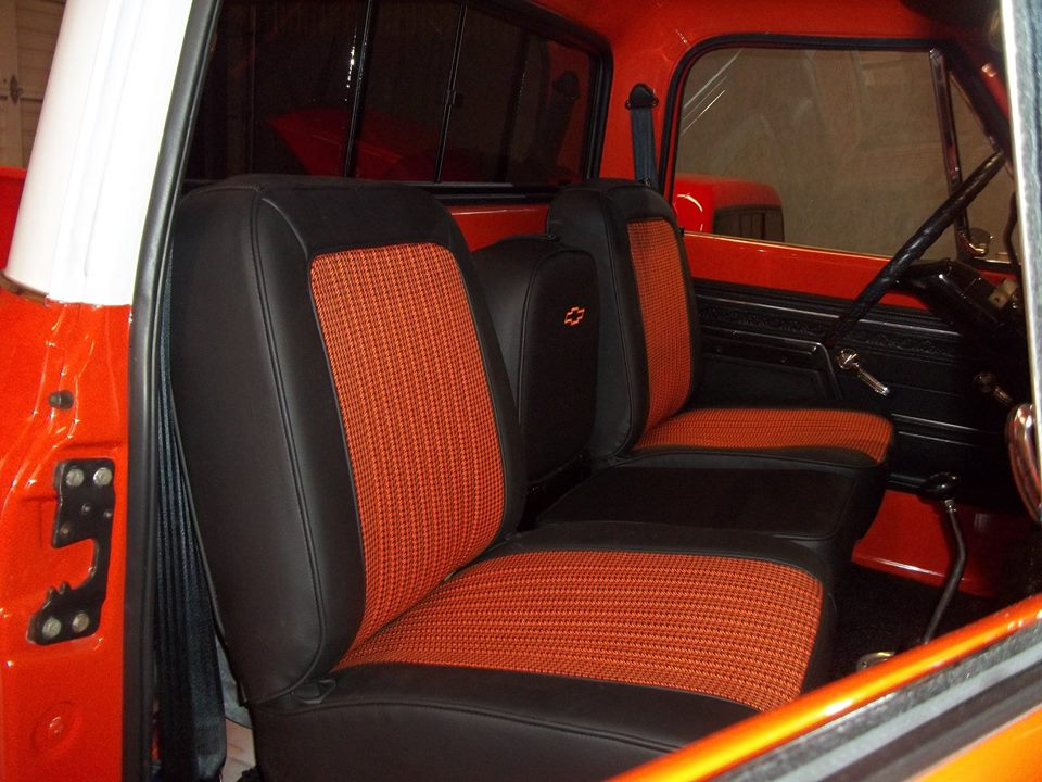 Seat Skins For Trucks >> Rick's Custom Upholstery Completed Truck