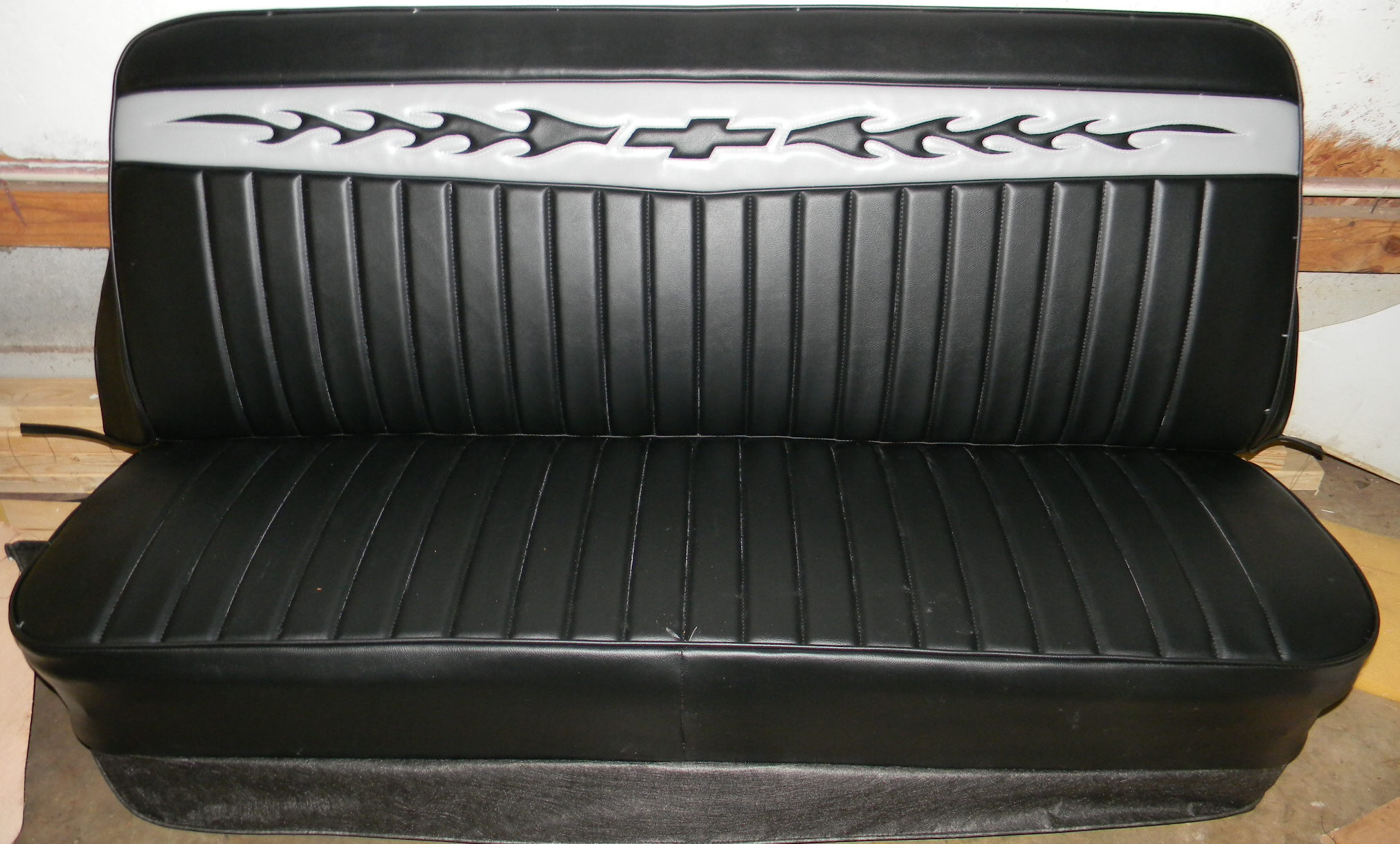 lone ranger c10 bench truck seat cover. Black Bedroom Furniture Sets. Home Design Ideas