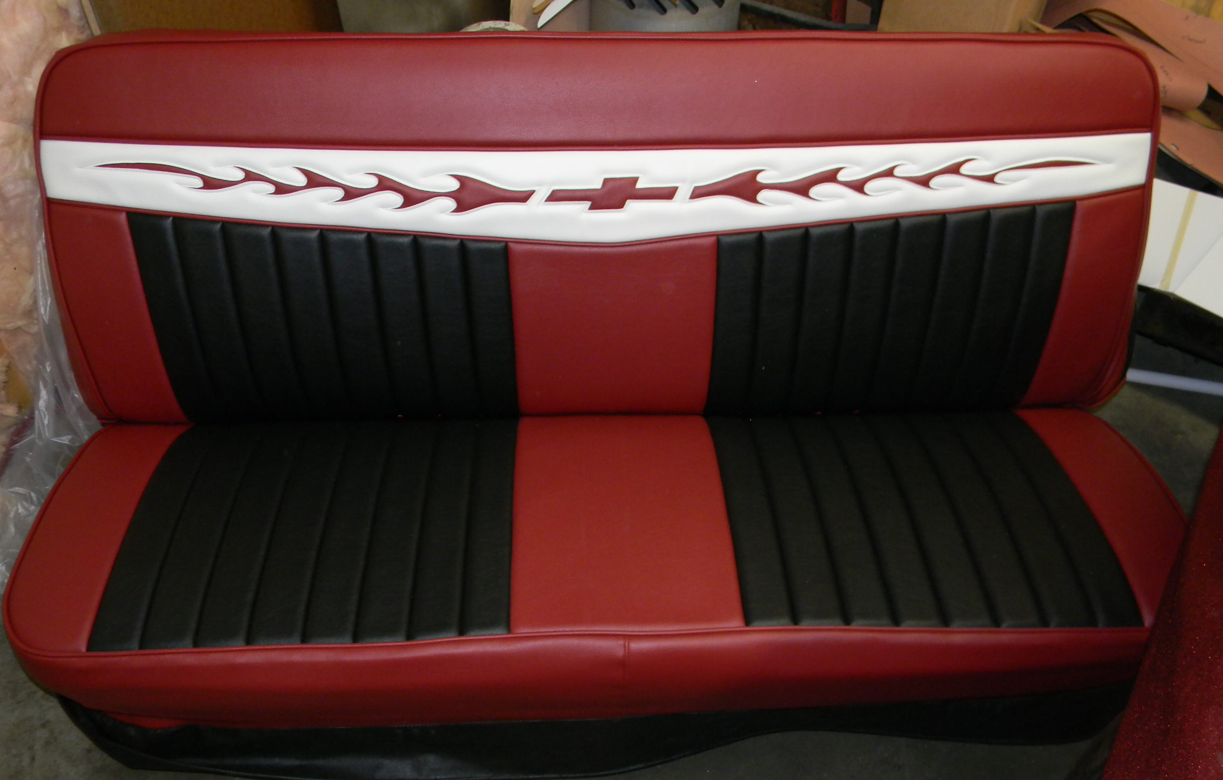 Lone Ranger C10 Bench Truck Seat Cover Rick S Custom Upholstery