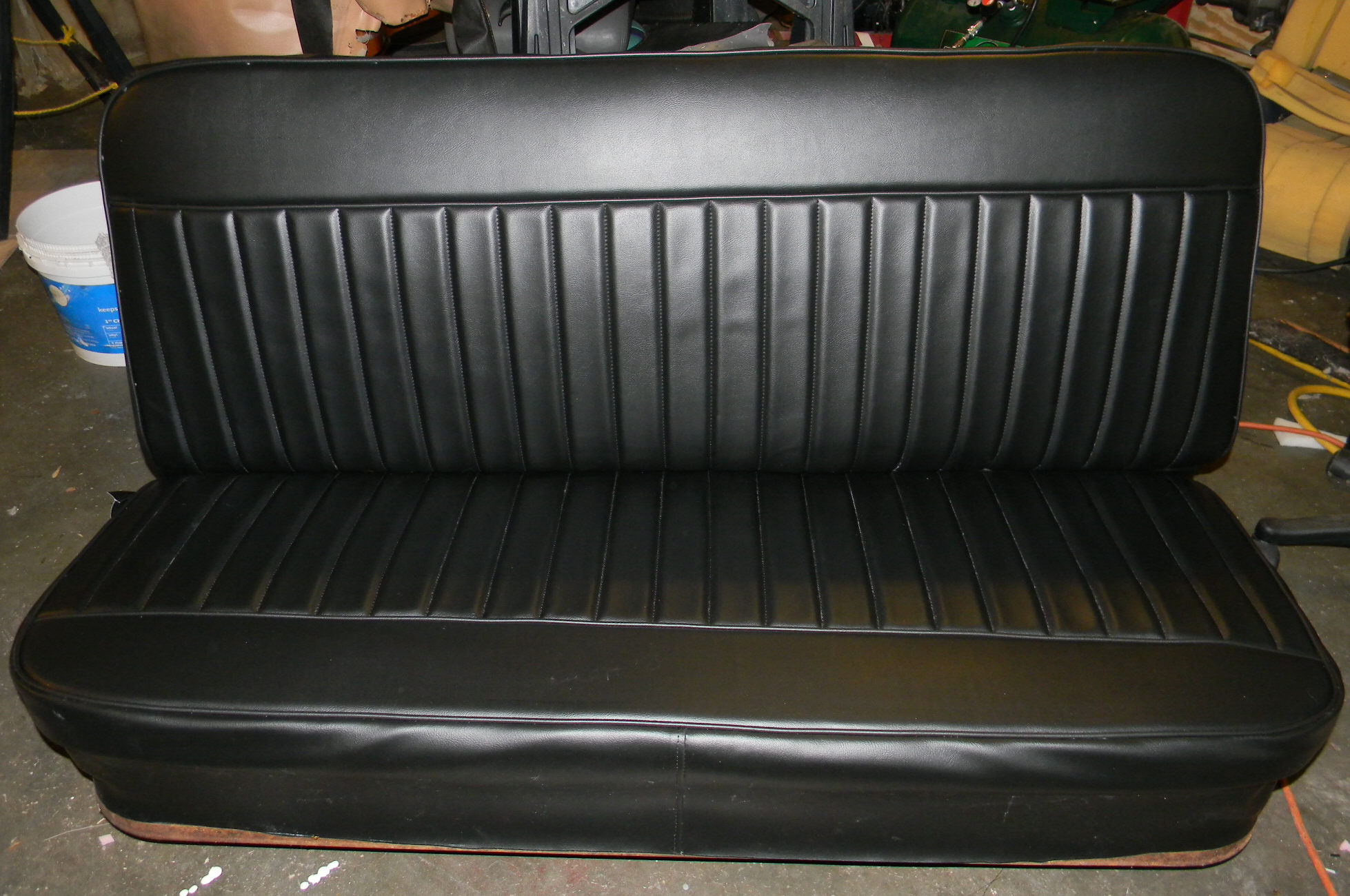 Seat Skins For Trucks >> Rick's Custom Upholstery Completed Truck 34