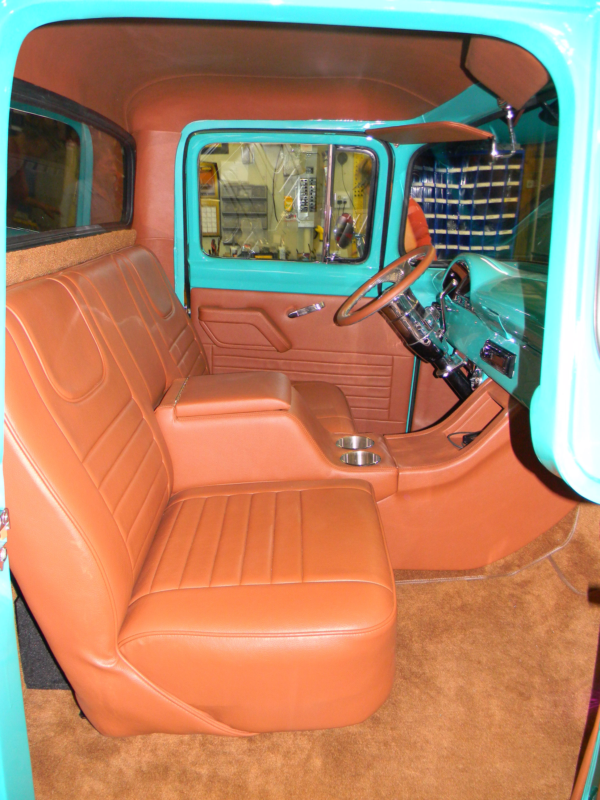 1955 Ford Truck Custom Interior Upholstery
