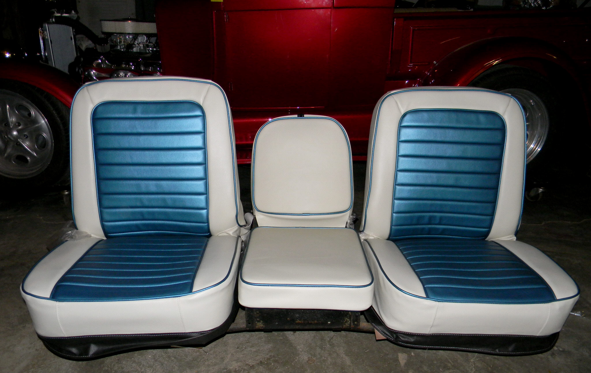 67 68 Buddy Bucket Truck Seat Covers Rick S Custom Upholstery
