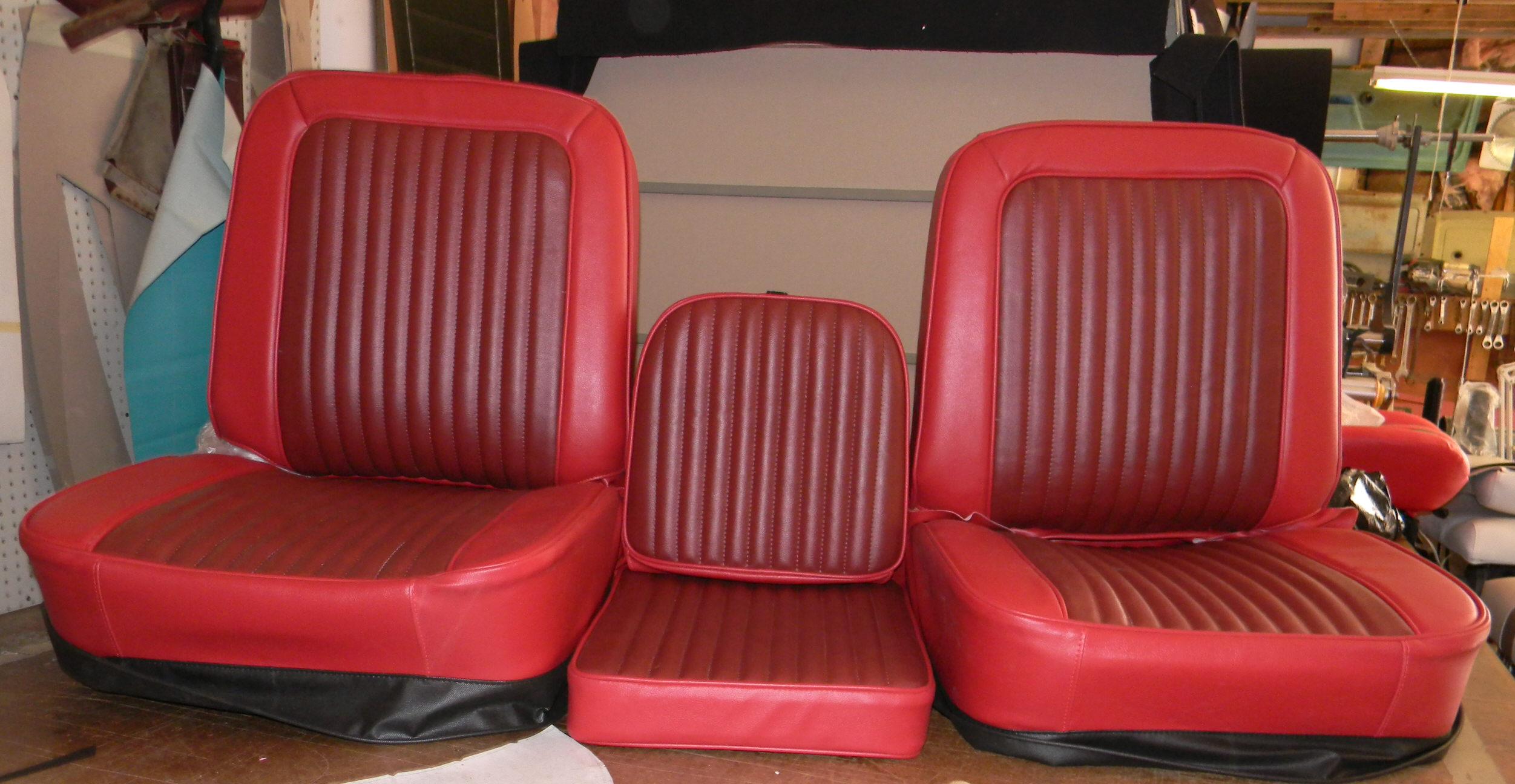 Rick S Custom Upholstery Buddy Bucket Seat Covers