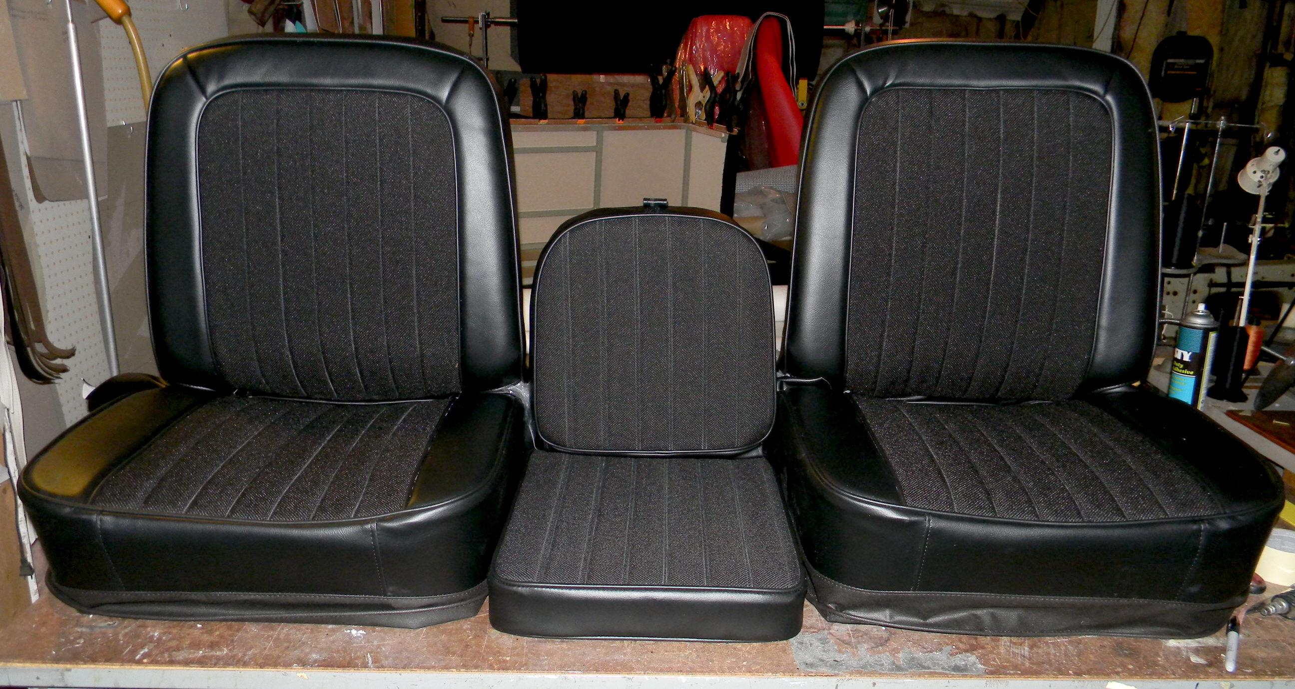 Rick S Custom Upholstery Buddy Bucket Seat Covers