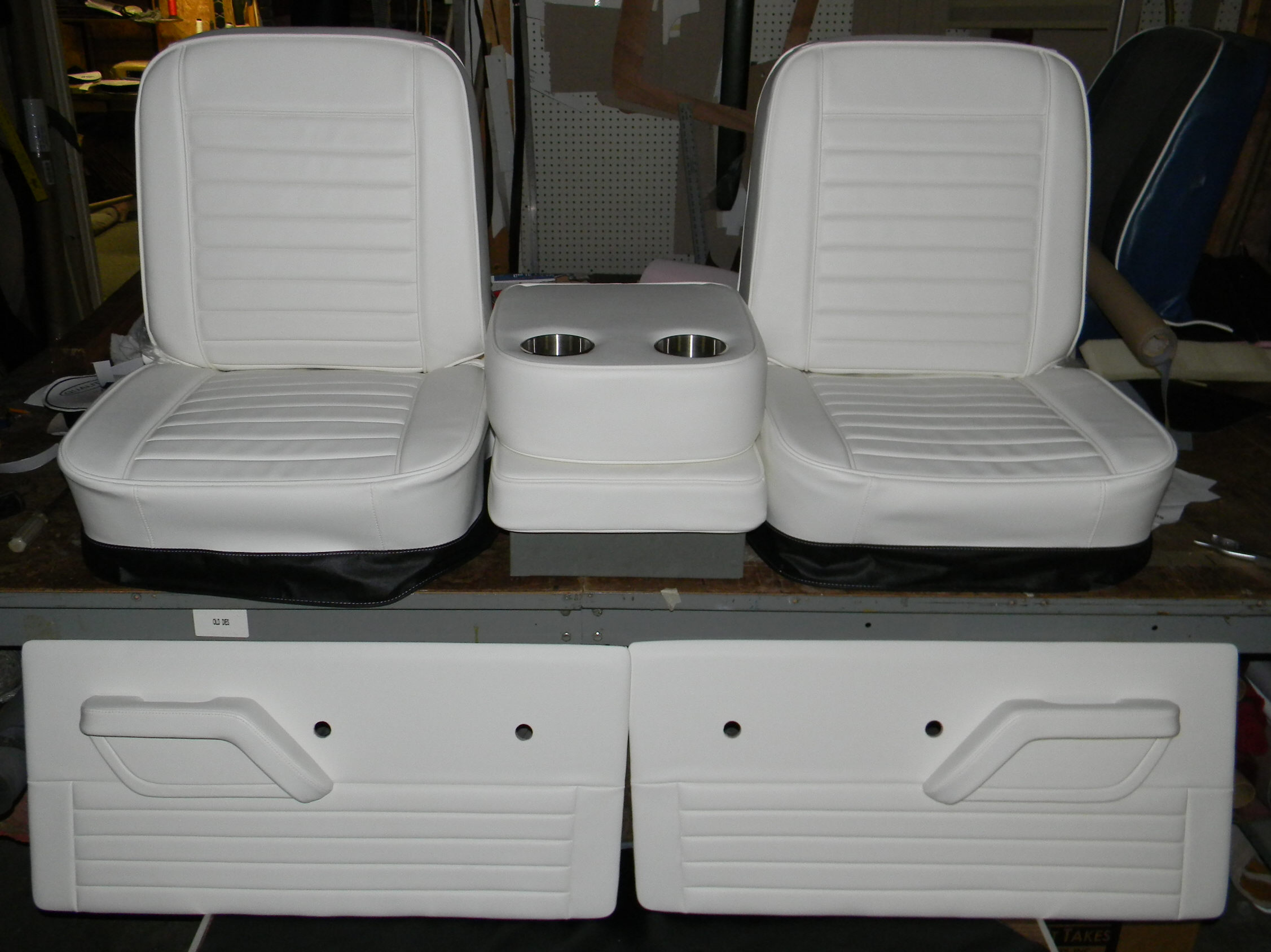 67 72 Buddy Bucket Door Panels