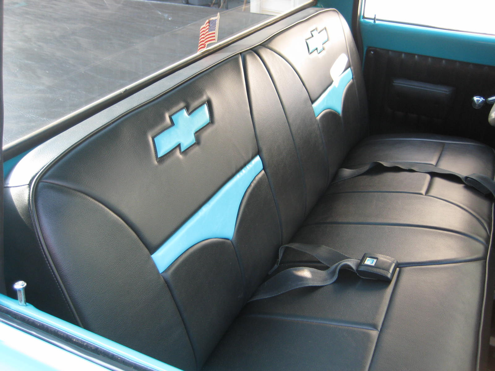 72 Chevy Mock Bucket Truck Seat Covers