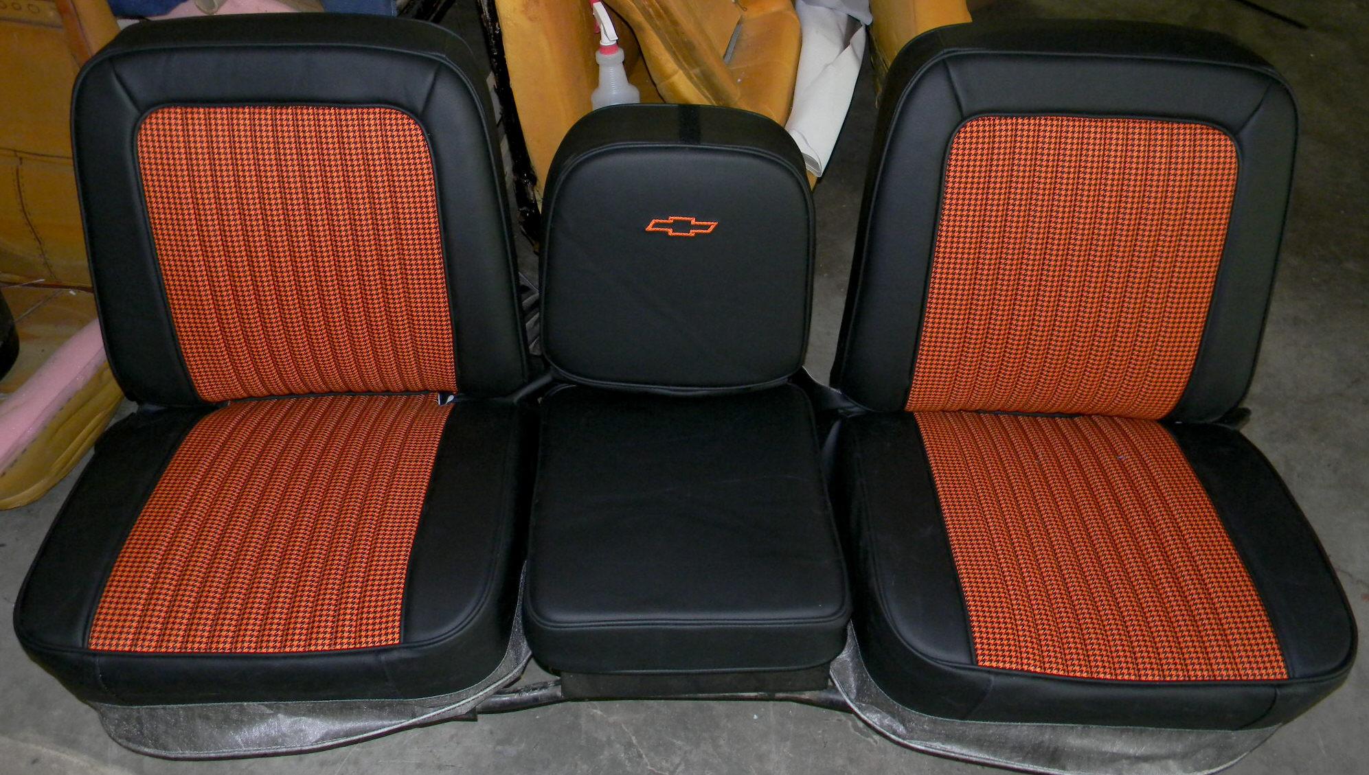Seat Skins For Trucks >> Rick's Custom Upholstery Completed Truck