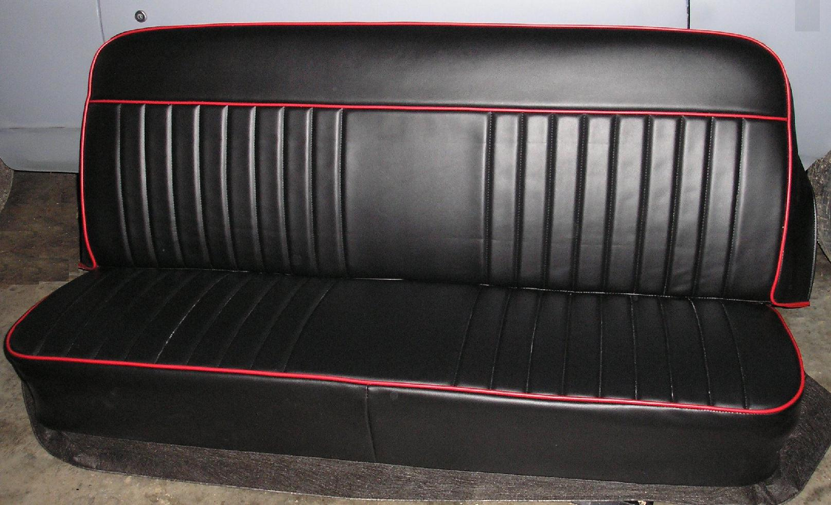 PLAIN JOHNNY Chevy Truck Bench Seat Covers