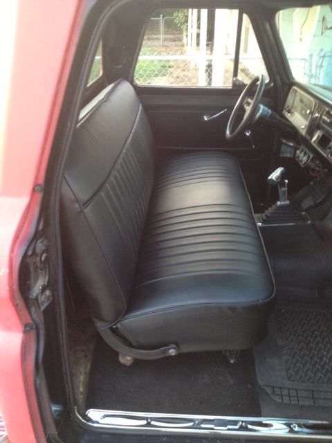 Old Chevy Truck >> 66 Chevy Truck seat covers