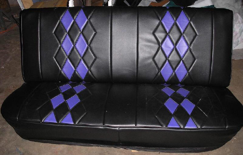 Diamond Pleat Bench Truck Seat Covers