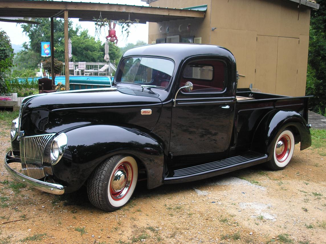 Seat Covers For Trucks >> 40 Ford Truck Interior