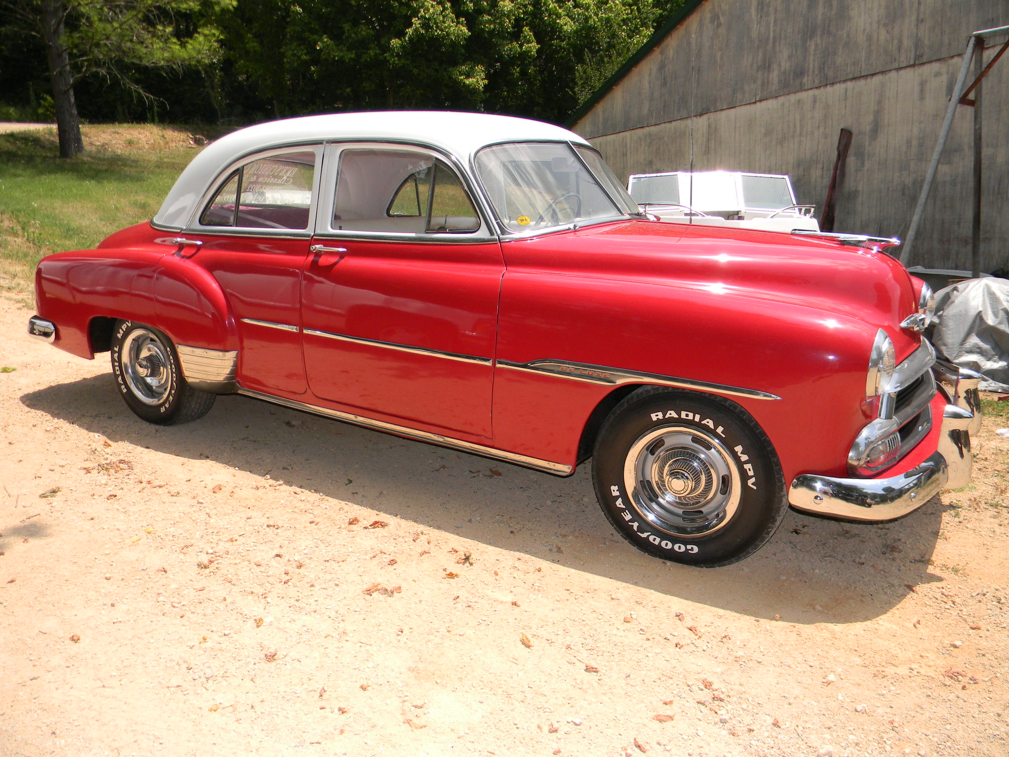 Image gallery 51 chevy 4 door for 1951 chevy deluxe 4 door for sale