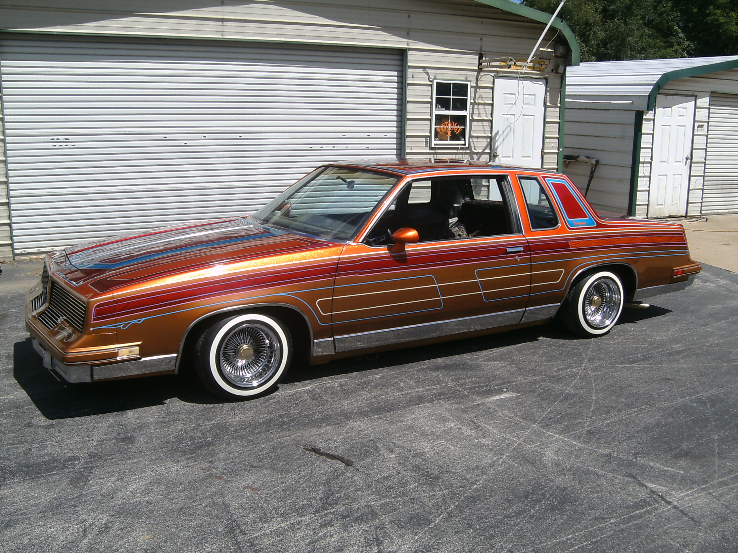 Ricks Custom Upholstery 83 CUTLASS SUPREME Page